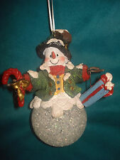 Light Up Christmas Tree Holiday Decor Snowman Ornaments, Hat, Gift, Candy Cane