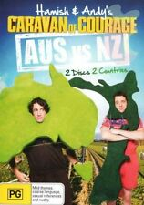 HAMISH & ANDY : CARAVAN OF COURAGE - AUS VS NZ - DVD - REGION 4 - SEALED