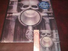 EMERSON LAKE & PALMER BRAIN SALAD SURGERY JAPAN REPLICA + 4OTH ANNIVERSARY LP