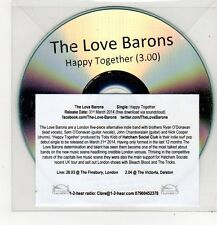 (FF405) The Love Barons, Happy Together - 2014 DJ CD