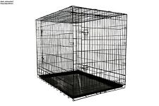 Extra Large Dog Crates Heavy Duty Wire Metal Folding Puppy Training Kennel Cages