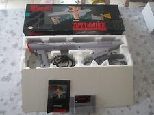 SUPER NES SUPER NINTENDO SNES SUPER SCOPE SUPERSCOPE 6 COMPLETE IN BOX!