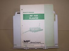 MF 468 PLANTER PARTS BOOK MANUAL CATALOG from MASSEY FERGUSON TRACTOR ORIGINAL