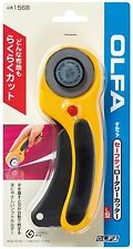 OLFA Safety Rotary Cutter 45mm L-156B For Cloth Paper Rubber sheet Film etc