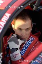 Richard Burns Peugeot WRC Portrait 2003 Photograph 2