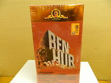Vhs 2 Movie Set - Ben Hur - Brand New Sealed - Hi Fi Stereo Videophonic - Nice