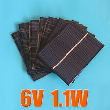 6V 1.1W 183mA Mini solar Panel small solar cell PV module for Solar DIY Kits
