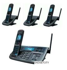 UNIDEN XDECT R R055+3  2 LINE DIGITAL CORDLESS PHONE+4 HANDSETS TOTAL+BNIB