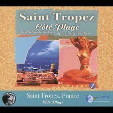 """Saint Tropez: Co""""té' Plage  Various Artists Chill/Downtempo CD (2004, Rasa)"""