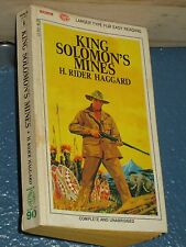 King Solomon's Mines by H. Rider Haggard *FREE SHIPPING*