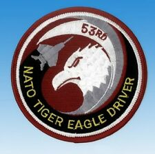 Patch écusson Nato Tiger Eagle driver