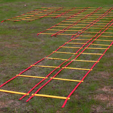 Speed Agility Training  9 rung Soccer Football Ladder Sports Exercise Equipment