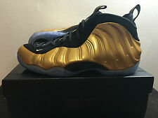 "NIKE AIR FOAMPOSITE ONE - ""METALLIC GOLD"" - SIZE 11 - LIMITED - NIKE.COM RECEIPT"