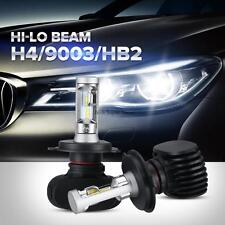 2PCS Philips 160W 16000LM H4 9003 HB2 LED Headlight Kit Hi/Lo Beam Bulbs 6500K