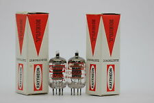 2 X 5654 TUBE. RAYTHEON BRAND TUBE .MATCHED PAIR. NOS/NIB. CRYOTREATED.