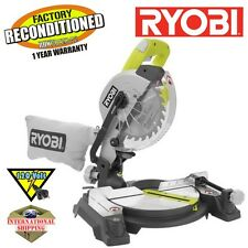 "Ryobi TS1143L 9 Amp 7-1/4"" Miter Saw with Laser in Green ZRTS1143L Reconditioned"