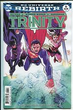 TRINITY #6 - REBIRTH - FRANCIS MANAPUL REGULAR COVER - DC COMICS/2017