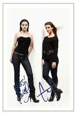 COTE DE PABLO & PAULEY PERRETTE NCIS AUTOGRAPH SIGNED PHOTO PRINT