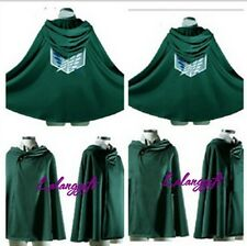 New Anime Shingeki no Kyojin Cos Cape Cloak Clothes Cosplay Attack on Titan Z