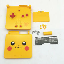 C Replacement Yellow Limited Housing Shell Case Kit f GBA SP Gameboy Advance SP