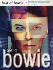 Best Of David Bowie Learn to Play Rock Pop Piano Vocal & Guitar Music Book