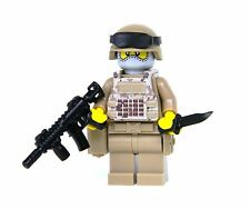 Digital Camouflage Soldier Minifigure (SKU11) Army Builder made with real LEGO®