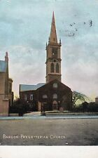 BANGOR PRESBYTERIAN CHURCH CO. DOWN IRELAND POSTCARD sent 6th MARCH 1908