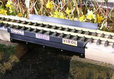 300x162x70mm G SCALE ALUMINIUM OUTDOOR GIRDER BRIDGE FULLY ASSEMBLED, FINISHED
