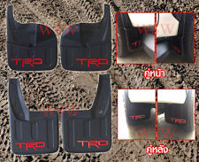 TRD Front Rear 4Dr Mud Guards Sport Fit Toyota Hilux Revo 4WD 4x4 2015 2017 17