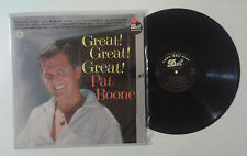 """Pat Boone """"Great! Great! Great!"""" LP DOT RECORDS DLP 3346 US 1960 VG/VG"""