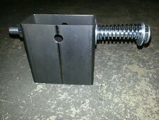 """2 x 4 Steel AR500 A36 target gong hanger with 1/2"""" carriage bolt WIDE / NARROW"""