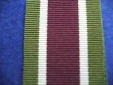 Tibet Medal 1905 Ribbon Full Size 15cm long