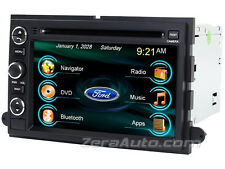 Ford In-Dash DVD GPS Navigation Stereo Bluetooth Touchscreen Radio USB SD Deck