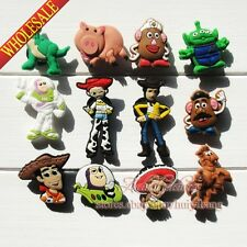 12pcs Toy Story Cartoon PVC Shoe Charms/Shoe Buckle Accessories,Party Supplies