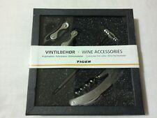 Vintilbehor vino accesorios (sacacorchos, cortador de papel de aluminio, termómetro de vino)