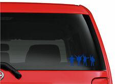 HELP! The Beatles NEW COLORS cut vinyl window/bumper stickers