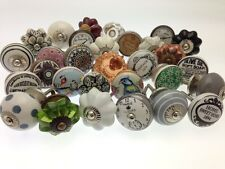 12 Mixed Shabby Chic Vintage Style Bargain Price Cupboard Kitchen Door Knobs