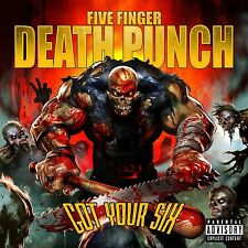 FIVE FINGER DEATH PUNCH CD - GOT YOUR SIX [EXPLICIT](2015) - NEW UNOPENED - ROCK