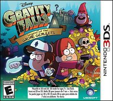 NINTENDO 3DS GAME GRAVITY FALLS LEGEND OF THE GNOME GEMULETS BRAND NEW SEALED
