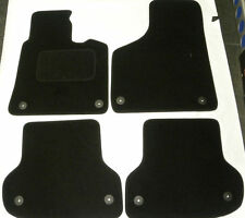 Tailored Black Car Floor Mats for AUDI A3 SPORTSBACK 04 ON tdi 5 door B2465