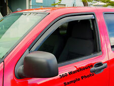 Dodge Ram 03 - 2008 Regular Cab In Channel Wind Deflectors Vent Visor Shade 2 pc