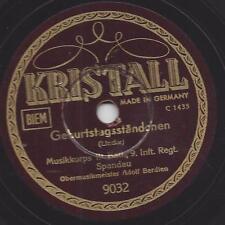 Musikkorps des 3. Batallion infanterie Adolf Berdien 1936 : Geburtstagsständchen