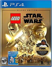 NEW LEGO Star Wars: The Force Awakens Deluxe Edition (Sony PlayStation 4, 2016)