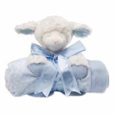 Gund 4034132 Baby Winky Lamb and Blanket Set Blue