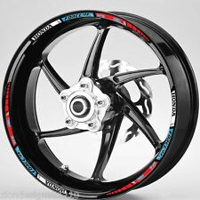 FORCE V4 VFR HONDA HRC TRI COLOUR  wheel rim graphics x 12