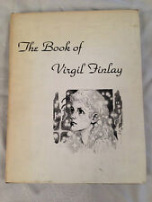 Gerry De La Ree - Book of Virgil Finlay - 1st/1st 1975 in DW, SIGNED LTD Edition