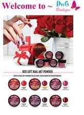 6pcs Mia Secret Professional Nail System Red Gift Collection Powder 6 colors NEW
