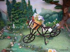 Metal Bike/ Bicycle for Miniature Fairy/Faerie/Gnome/Hobbit Garden/ Dollhouse
