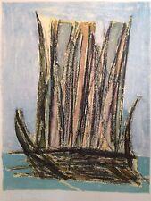 PATRICE Rare Réalisée en 1954 Abstrait Picasso Braque Miro Dali Hans Hartung