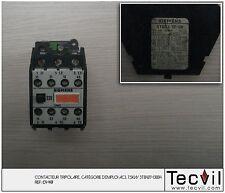 Contacteur tripolaire SIEMENS AC3, 7,5KW 3TB4217-0BB4   Contactor 3 poles
